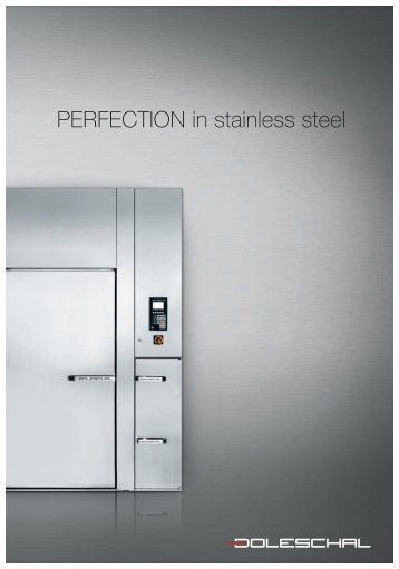 PERFECTION in stainless steel - Doleschal