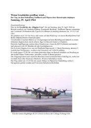 Wenn Geschichte greifbar wird… Samstag, 29. April 1944