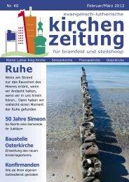 Kirchen Zeitung - Neues
