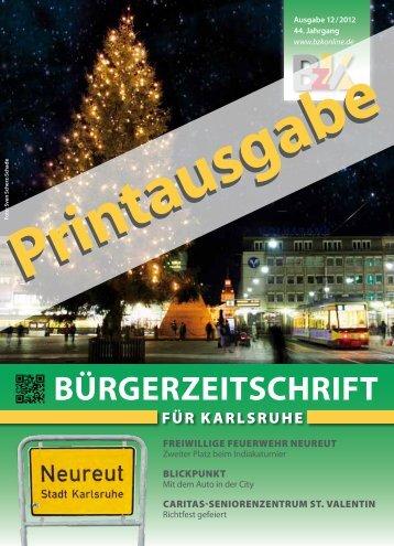 Bürgerzeitschrift - BzK online: Karlsruhe