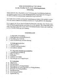 Schwesing Satzung - Kirchenkreis Nordfriesland