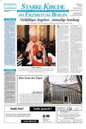 Starke Kirche - Morus Verlag