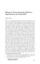 Beitrag zur Untersuchung der kollektiven ... - Stephan Moebius