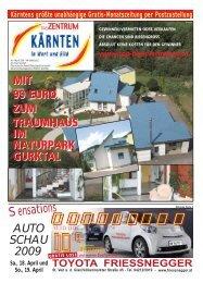 Ausgabe 04.2009 (PDF-Format, ca. 1,8 MB - Zentrum Kärnten in ...