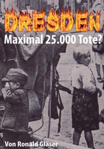 Maximal 25.000 Tote? - Die deutschen Konservativen e.V.