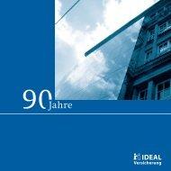 90Jahre - IDEAL Versicherung