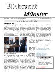 Blickpunkt 134 - Evangelisch lutherische Kirchengemeinde Heilsbronn