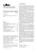 Obermenzinger Hefte - Verein der Freunde Schloss Blutenburg eV - Seite 3