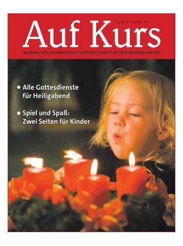 Ausgabe November 2012 - Evangelisch-lutherischer Kirchenkreis ...