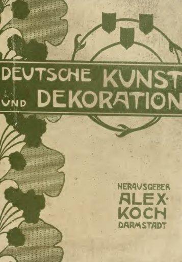 Deutsche kunst und dekoration