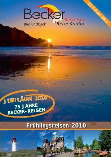 Frühlingsreisen 2010 - Dornburg-Reisen.de
