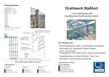 Wellengitter - Drahtwerk Stassfurt