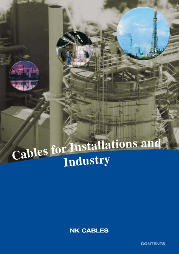 Cables for Installations and Industry - Draka