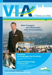 Ausgabe Nr. 4 / 2006 - St. Vincenz Krankenhaus Limburg