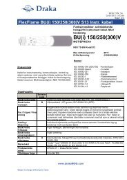 BU(i) 150/250(300)V - Draka norsk kabel