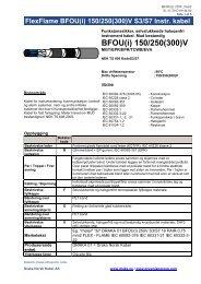 BFOU(i) 150/250(300)V - Draka norsk kabel