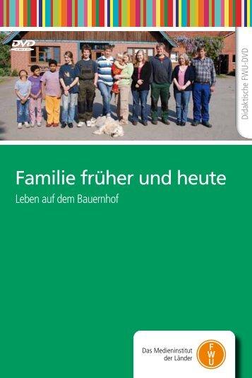 Familie früher und heute - IMeNS