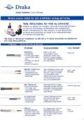 Page 1 Draka Cableteq H  Low Voltage Page 2 Draka leverer kabel ... - Page 2