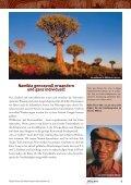 Nachhaltig reisen in Namibia - Hauser exkursionen - Seite 3