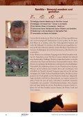 Nachhaltig reisen in Namibia - Hauser exkursionen - Seite 4