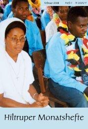 Hiltruper Monatshefte - Herz-Jesu-Missionare