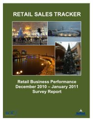 RETAIL SALES TRACKER - Belfast Chamber of Trade & Commerce
