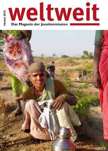 Weltweit Herbst 2010 (PDF) - Jesuitenmission