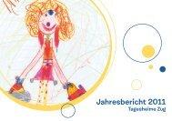 Jahresbericht 2011 - Tagesheime Zug