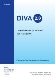 Diagnostisk intervju för ADHD hos vuxna (DIVA)