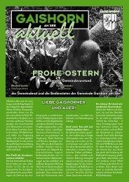 Gemeindezeitung März 2008 - Gaishorn am See