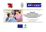 RN4CAST NURSE FORECASTING - Technische Universität Berlin