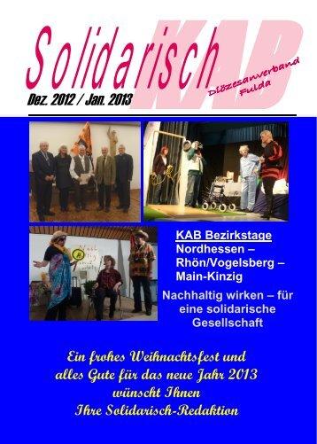 Main-Kinzig Nachhaltig wirken - KAB DV Fulda