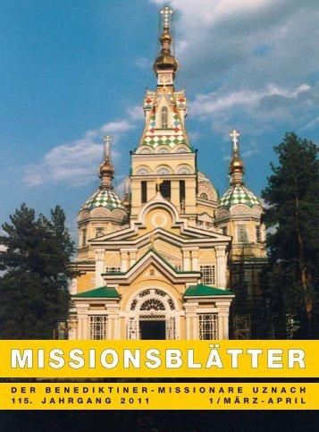 MISSIONSBLÄTTER - Otmarsberg