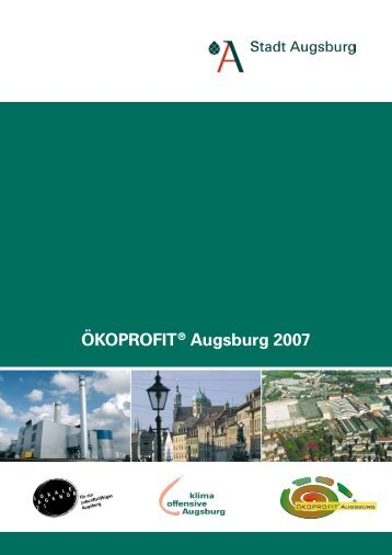 ÖKOPrOfit® Augsburg 2007 - Universitätsbibliothek Augsburg
