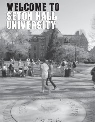 WELcome to seton hall university - Seton Hall University Athletics