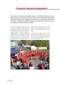 Rapport annuel 2010 « Pauvreté, faisons-la ... - Caritas Vaud - Page 6