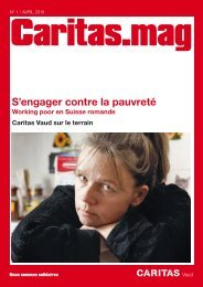 S'engager contre la pauvreté Working poor en Suisse ... - Caritas Vaud
