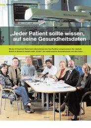 """""""Jeder Patient sollte wissen, auf seine ... - Initiative-ELGA"""