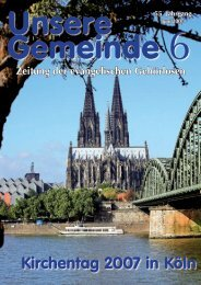 Kirchentag 2007 in Köln - Die DAFEG