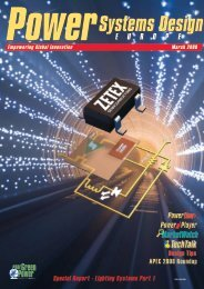 Special Report - Power Systems Design