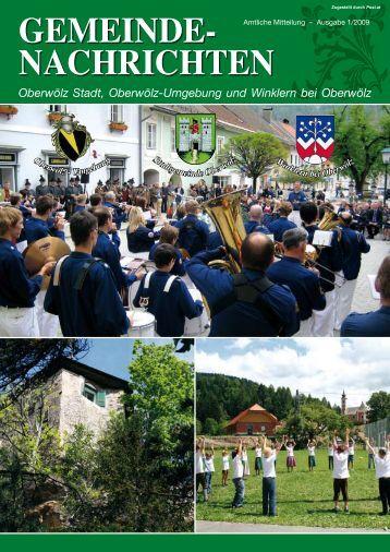 Gemeinde- nachrichten - Oberwölz