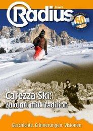 Insert Carezza Ski: Zukunft mit Tradition - Mediaradius