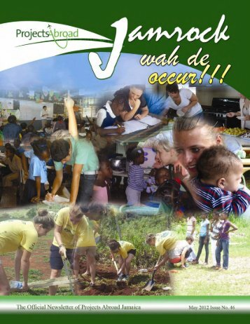 2,14MB Jamaica Newsletter - May 2012 - Projects Abroad