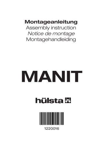 Montageanleitung Assembly instruction Notice de montage ...