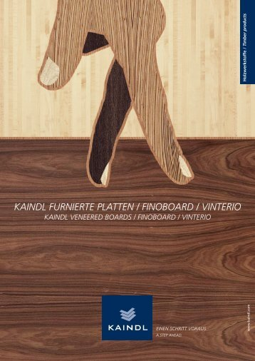 KAINDL FURNIERTE PLATTEN / FINOBOARD  / VINTERIO