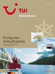 WOLTERS - Hurtigruten: Arktis, Antarktis - 2010/2011 - tui.com ...