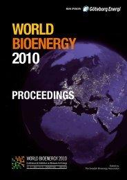 Proceedings World Bioenergy 2010
