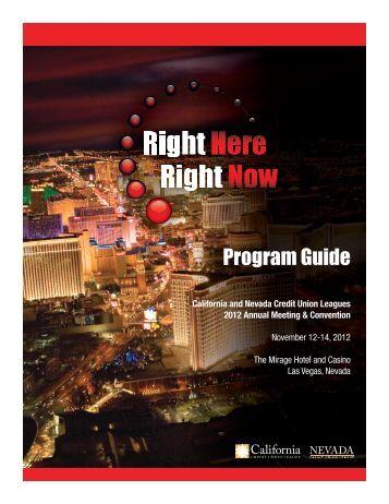 Program Guide - Annual Meeting & Convention 2012 - California ...