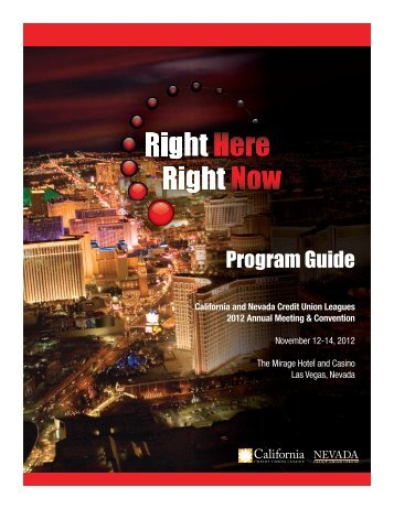 Program Guide - Annual Meeting & Convention 2012 - California ...