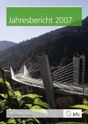 Jahresbericht 2007 - BfU